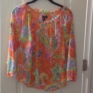 Ralph Lauren floral shirt